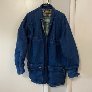 VINTAGE High Sierra Outfitters Denim Jean Jacket M